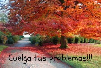 cuelga tus problemas